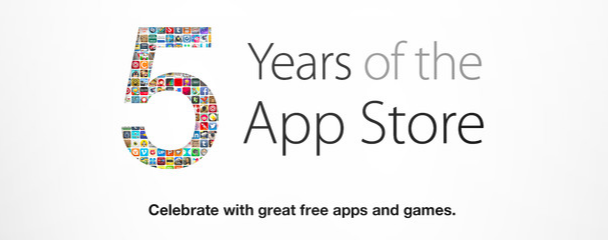 apple 5 year anniversary