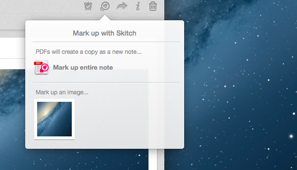 Evernote and Skitch