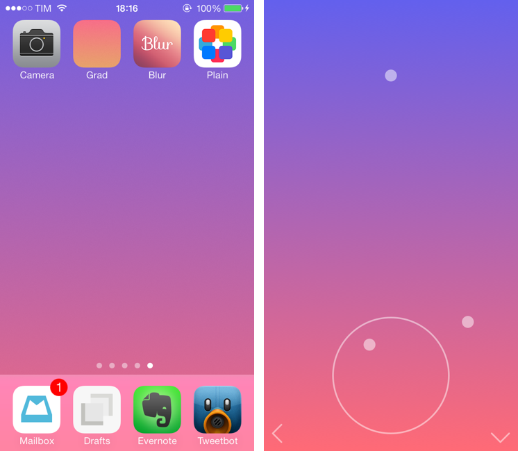 For The Colorful: Create iOS 7 Wallpapers From an iPhone or iPad – MacStories