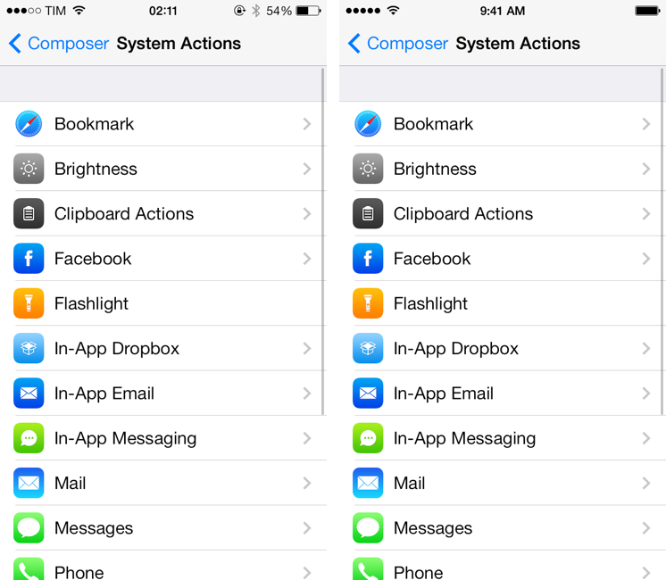 Status magic adds support for ios 7 status bars macstories altavistaventures Choice Image